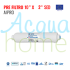 "PRE FILTRO IN LINEA SED 2"" X 10"" - ATT. 1/4"" F (MADE IN EU) SEDIMENTI"